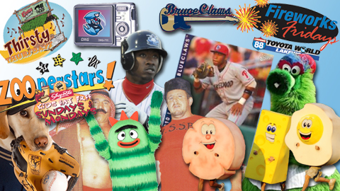 The BlueClaws will be adding more promotions soon so be sure to check back.