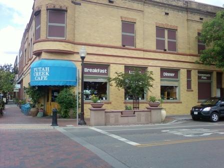 Putah Creek Cafe Main Street Winters Ca