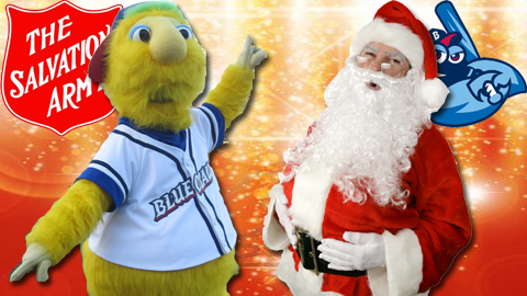 Buster and Santa will be at FirstEnergy Park on December 10th.