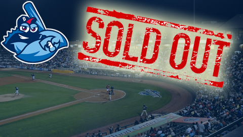 This will be the first year that the BlueClaws cap crowds at 8,000.