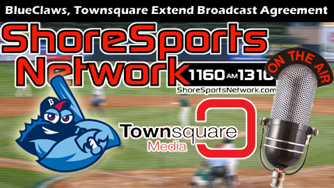 All BlueClaws games will be broadcast on the Shore Sports Network through 2015.